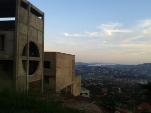 Across Kampala from Tank Hill, Muyenga