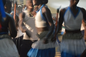 Acholi Students Dancing